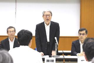 鈴木学長の挨拶