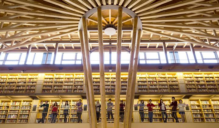 図書館内観イメージ