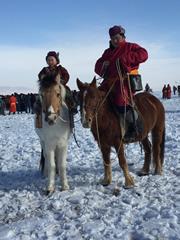 馬が一万頭集まるモンゴルのWinter Horse Festival の様子