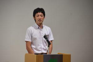 花岡小学校 藤原聡一先生
