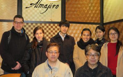 Almajiroと記念撮影