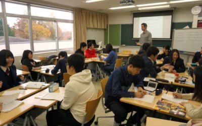 授業見学の様子の写真