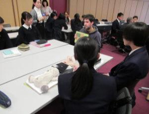 2019/02/07 由利高校国際科との交流