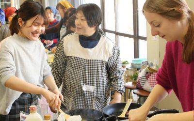 国際ふるさと料理交流会での写真