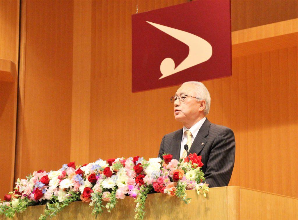 堀井副知事による祝辞の写真