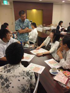 本学町田智久教員によるセッションの様子