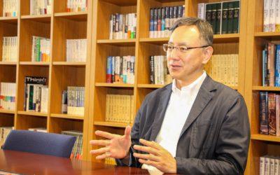 熊谷副学長の写真