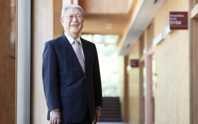鈴木学長の写真