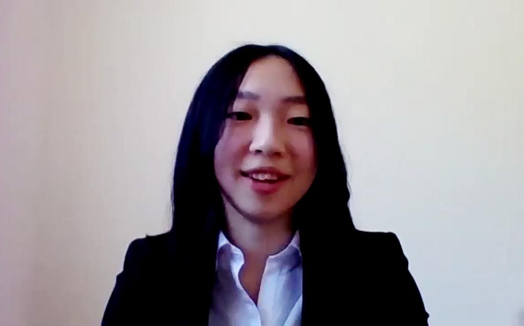 学部生代表 畠山さんの写真