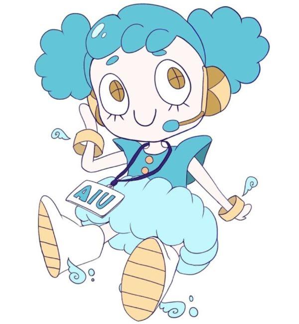 第17回AIU祭のマスコットキャラクターの画像