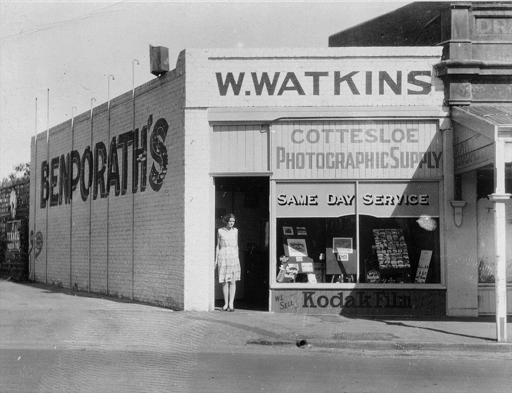 Picture of grandfather's store