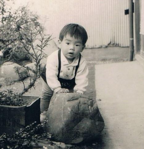 1歳の頃の内田教授の写真