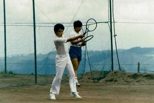 22歳の内田教授の写真