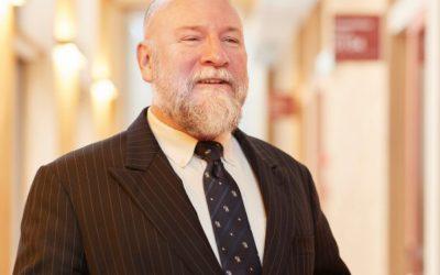 パトリック・ドーティ教授の写真